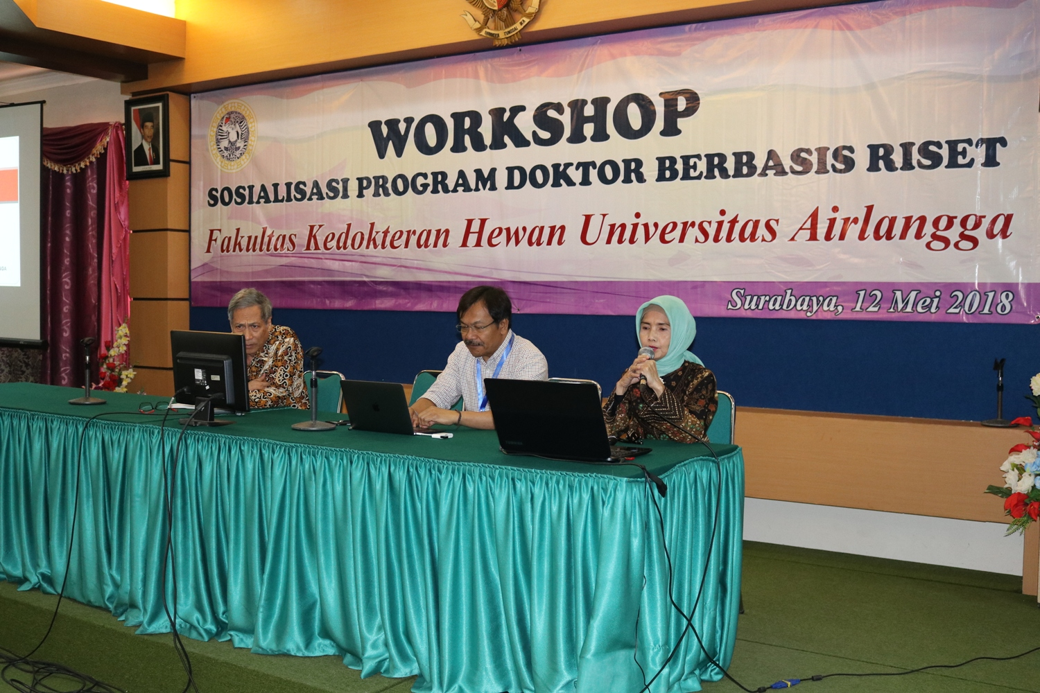 Workshop Sosialiasi Program Doktor Berbasis Riset